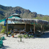El Santuario workshop yurt